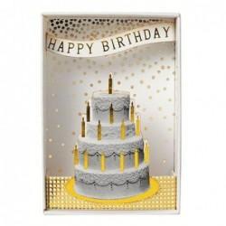 Boite - Happy birthday - Rader