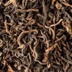 Thé noir sombre - Pu Ehr Cang Yuan - 100g - Dammann Frères
