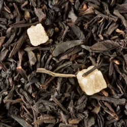 Thé noir parfumé - Dammann Frères - Pêche abricotée - 100g