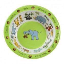 Assiette creuse en mélamine - Jungle - Tyrell Katz