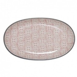 Plat oval Cécile - Bloomingville - Rose