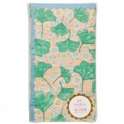 20 Serviettes en papier - Rice - Leaves and Flower