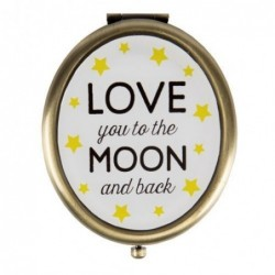 Miroir de poche - Love you to the moon & back - Sass & Belle