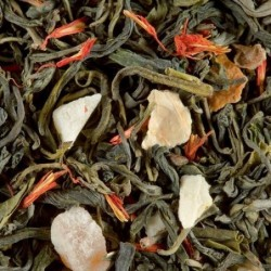 Thé vert parfumé - Damman Frères - Vert exotic - 100g