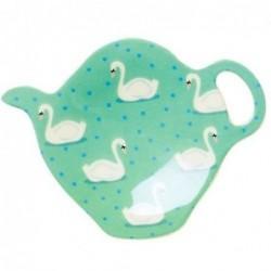 Coupelle à sachet de thé - Mélamine Rice - Swan