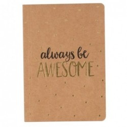 Carnet - Always be awesome - Sass & Belle