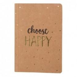 Carnet - Choose Happy - Sass & Belle