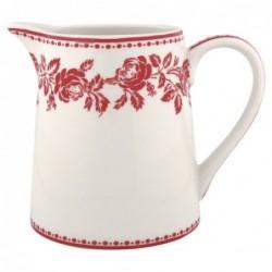 Pichet - Greengate - Fleur red