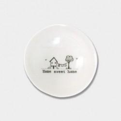 Coupelle miniature en porcelaine - East of India - Sweet home
