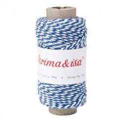 Rouleau de ficelle - Krima et Isa - Bleu marine
