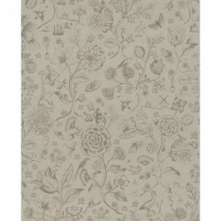 Papier peint - Spring to life - Taupe - ref 375011