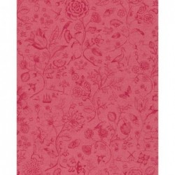 Papier peint - Spring to life - Rouge - ref 375013