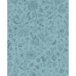 Papier peint - Spring to life - Bleu - ref 375012