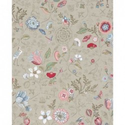 Papier peint - Spring to life - Taupe - ref 375001