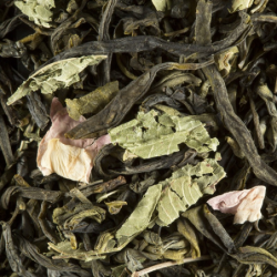 Thé vert parfumé - Damman Frères - Pêche Verveine - 100g