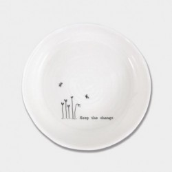 Coupelle porcelaine - East of India - Keep the change