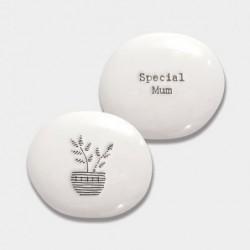 Galet de porcelaine - East of India - Special mum