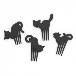 Lot de 16 Pics pour canapés - Kitchen Craft - Chats noirs