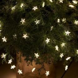 Guirlande lumineuse LED - Sirius - Trille - Etoiles - Vert - 40L