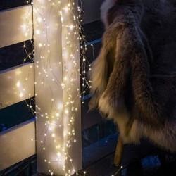 Guirlande lumineuse LED - Sirius - Knirke - 80L - Silver