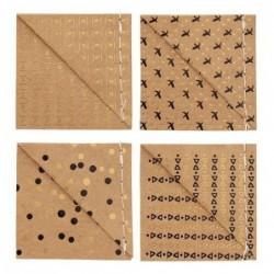 Lot de 4 marque-pages - Brown - Rader