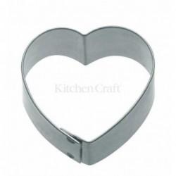 Emporte-piece - coeur 7.5 cm - metal