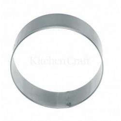 Emporte-piece - rond 7.5 cm - metal