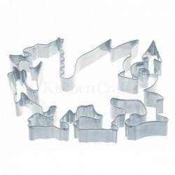 Emporte-piece - dragon 7.5 cm - metal