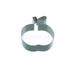 Emporte-piece - pomme - 8cm - metal