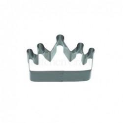 Emporte-piece - couronne - 9 cm - metal