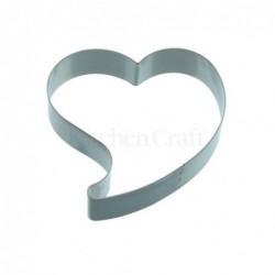 Emporte-piece - coeur - 12 cm - metal