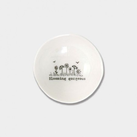 Coupelle miniature en porcelaine - East of India - Blooming