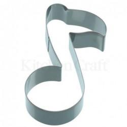 Emporte-piece - Note de musique - 12 cm - metal