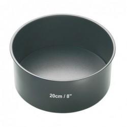 Moule - antiadhesif - fond amovible - 20 cm