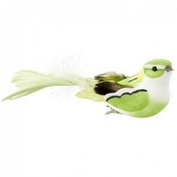 Oiseau à clip - Rice - Vert