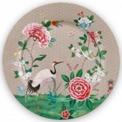 Assiette de présentation - Blushing Birds - Kaki - Pip Studio - 32 cm
