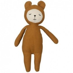 Doudou Buddy Ours - Fabelab - Ocre