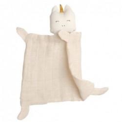 Doudou Cuddle Licorne - Fabelab - Natural