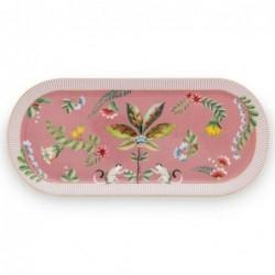 Plat à cake - La Majorelle - Rose - Pip Studio