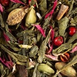 Thé vert parfumé - Damman Frères - Spicy Coco - 100g