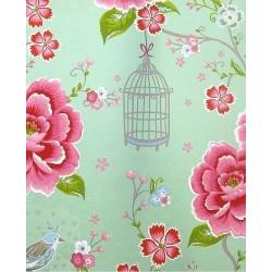 Papier peint Pip Studio - Birds in Paradise Green - ref 300162