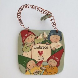 Embrace life Children - Gnomy's Friends by Anne Kabouke