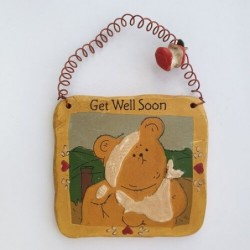 Get well soon Bobo - Gnomy's Friends by Anne Kabouke