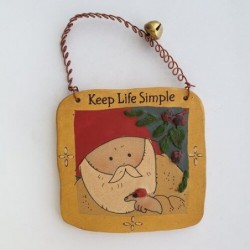 Keep life simple - Gnomy's Friends by Anne Kabouke