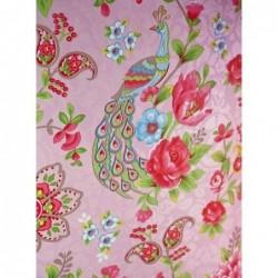 Papier peint Flowers In The Mix - Rose - ref 313053
