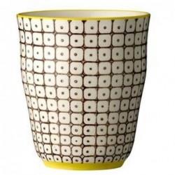 Gobelet Carla Pattern - Bloomingville - Marron