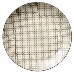 Assiette Pattern - Bloomingville - Grey - 20cm