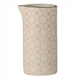Pot à lait - Bloomingville - Cécile rose gris