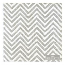 Serviettes en papier - Greengate - Ziggy warm grey