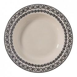 Assiette a soupe Julie - Bloomingville - 25cm